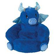 Trend Lab Children's Plush Dragon Character Chair