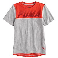 Boys 4-7 PUMA Colorblock Graphic Tee