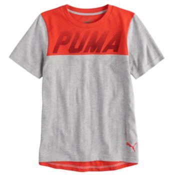Boys 4-7 PUMA Colorblock Graphic Tee