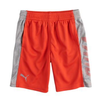 Boys 4-7 PUMA Colorblocked Performance Shorts