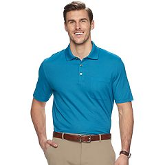 Big & Tall Van Heusen Classic-Fit Striped Stretch Polo