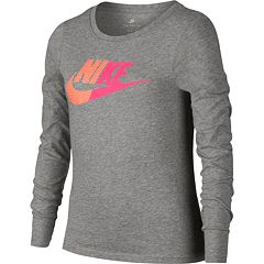 Girls 7-16 Nike Split Futura Long Sleeve Tee