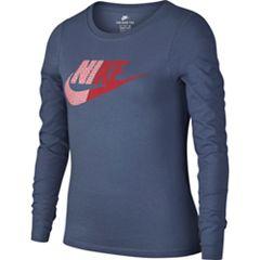 Girls 7-16 Nike Split Futura Long Sleeve Tee