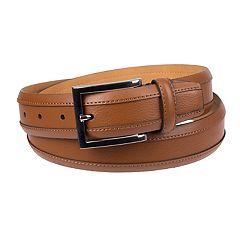 Men's Chaps Pebbled Leather Belt