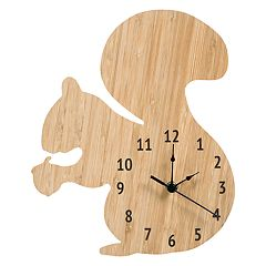 Trend Lab Squirrel Wall Clock