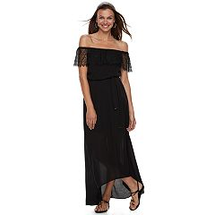 Women's Apt. 9® Off-the-Shoulder Lace Maxi Dress