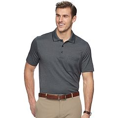 Big & Tall Van Heusen Flex Classic-Fit Jacquard Striped Polo