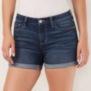 Women's LC Lauren Conrad Cuffed Jean Shorts