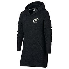 Girls 7-16 Nike Long Sleeve Tunic Hoodie