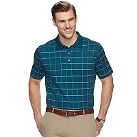 Big & Tall Van Heusen Classic-Fit Windowpane Polo