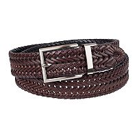 Men's Chaps Reversible Braided Belt