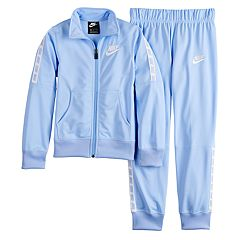 Girls 7-16 Nike Tricot Jacket & Pants Track Suit Set