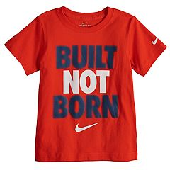 Boys 4-7 Nike 'Built Not Born' Graphic Tee