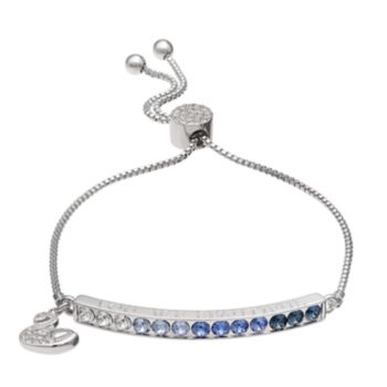 "Brilliance ""You Are Beautiful"" Adjustable Bracelet with Swarovski Crystals"
