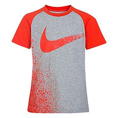Boys 4-7 Nike Chalk Swoosh Graphic Tee
