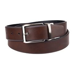 Men's Chaps Reversible Leather Belt