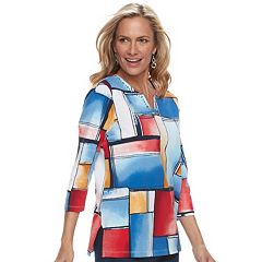 Women's Alfred Dunner Studio Patchwork Top