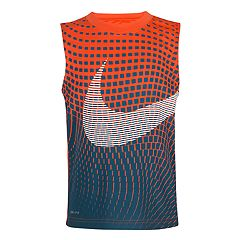 Boys 4-7 Nike Reverberating Print Dri-FIT Swoosh Tank