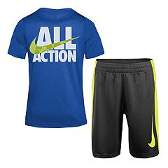 Boys 4-7 Nike 'All Action' Graphic Tee & Shorts Set