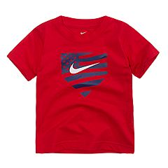 Toddler Boy Nike Americana Baseball Plate Graphic Tee