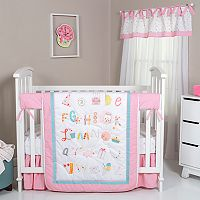 Trend Lab Alphabet Cake 4 pc Crib Bedding Set