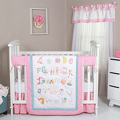 Trend Lab Alphabet Cake 4-pc. Crib Bedding Set
