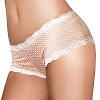 Maidenform Scalloped Lace-Trim Modal Cheeky Hipster 40837 - Women's