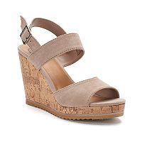 SO® Bonito Women's Wedge Sandals