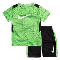 Toddler Boy Nike Abstract Top & Shorts Set