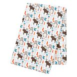 Trend Lab Scandi Forest Jumbo Deluxe Flannel Swaddle Blanket