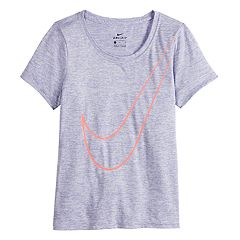 Girls 7-16 Nike Victory Veneer Swoosh Short Sleeve Tee