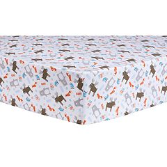 Trend Lab Scandi Forest Fitted Crib Sheet