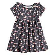 Toddler Girl Jumping Beans® Floral Ruffle Dress