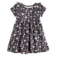 Toddler Girl Jumping Beans® Floral Ruffle Dress