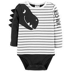 Baby Boy Carter's Dinosaur 'Roar' Mock-Layer Bodysuit