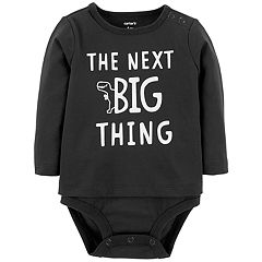 Baby Boy Carter's 'The Next Big Thing' Dinosaur Layered Bodysuit