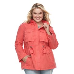 Plus Size Levi's Anorak Military Jacket