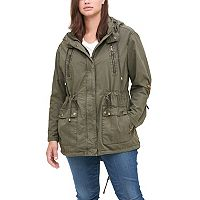 Plus Size Levi's Hooded Fishtail Anorak Jacket