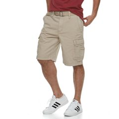 Men's Urban Pipeline® Belted Twill Cargo Shorts