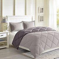 Madison Park Essentials 3M Stain Release Down-Alternative Reversible Comforter Set