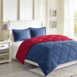 Madison Park Essentials 3M Stain Release Down-Alternative Reversible Comforter Set