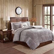 Woolrich Alton Plush to Sherpa Fleece Comforter Set