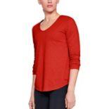 Women's Under Armour Pindot Open Back Long Sleeve Top