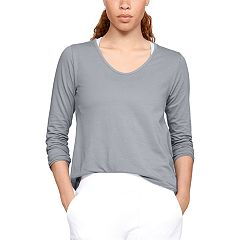 Women's Under Armour Pindot Open Back Long Sleeve Top