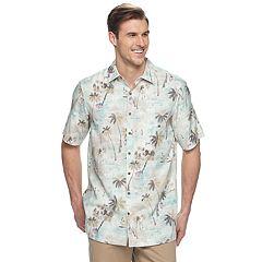 Big & Tall Batik Bay Classic-Fit Tropical Americana Shirt