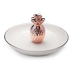LC Lauren Conrad Ceramic Pineapple Trinket Tray