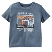 "Boys 4-8 OshKosh B'gosh® ""Mom's MVP"" Graphic Tee"