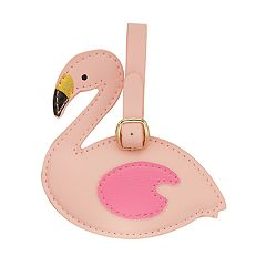 LC Lauren Conrad Flirty Flamingo Luggage Tag