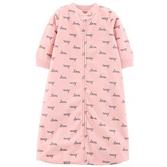 Baby Girl Carter's Microfleece 'Love' Sleep Bag