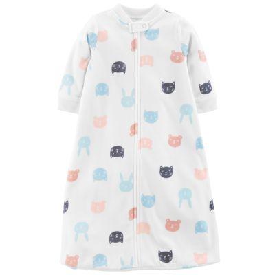 Baby Girl Carter's Microfleece Critter Sleep Bag